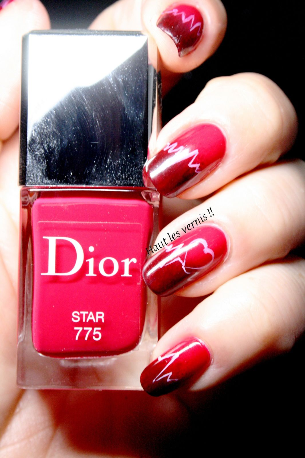 Dior Star..Mon love nail art
