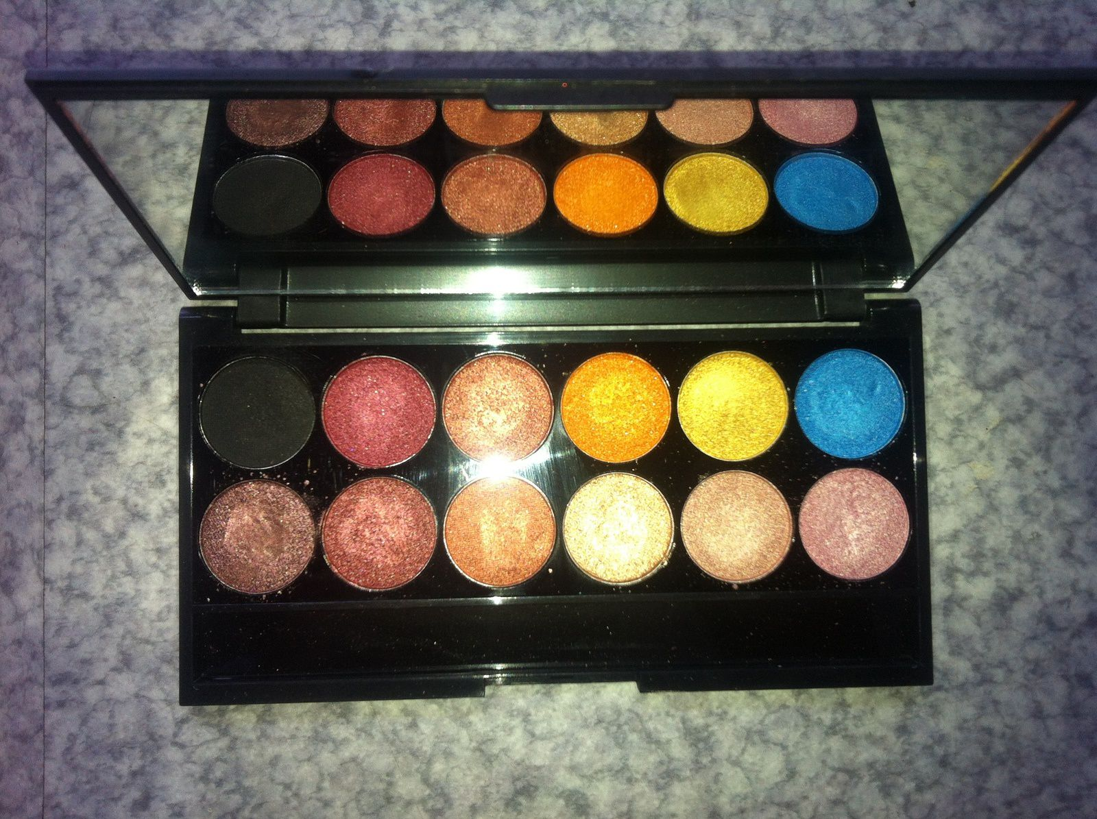 Swatche palette Sleek - Sunset