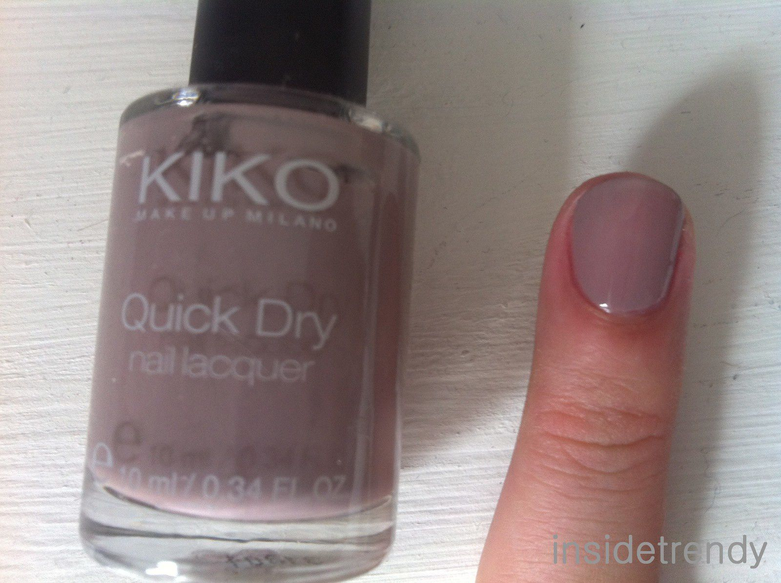 Swatches Collection vernis kiko - 2ème partie