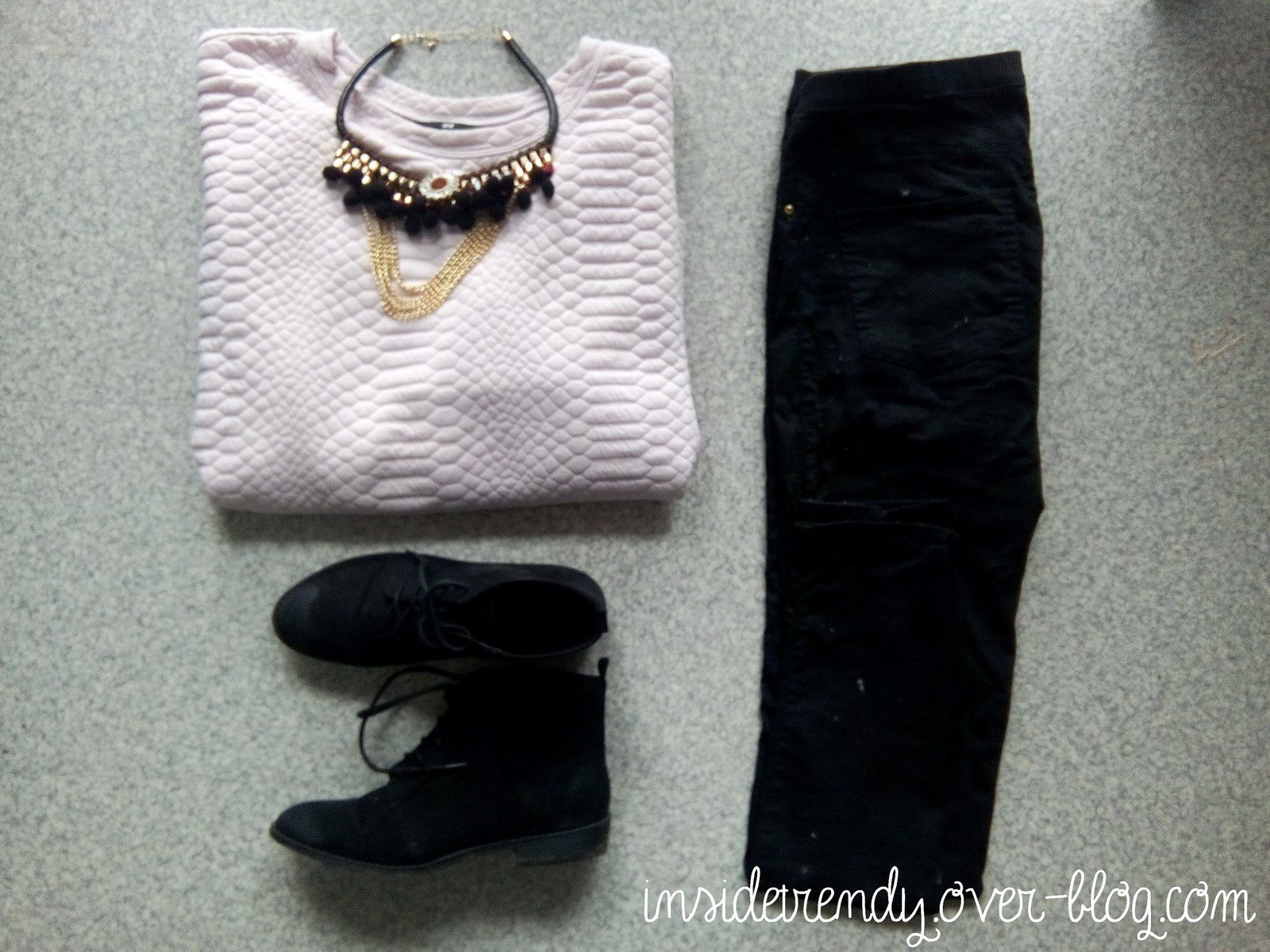 Look d'hivers - Pink &amp&#x3B; black