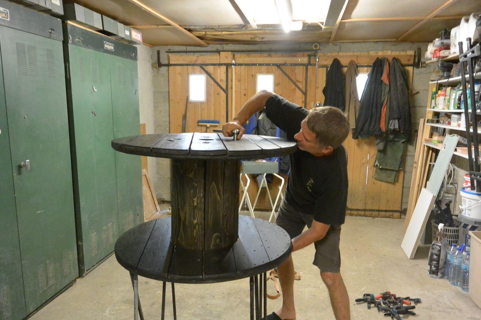 id e le recyclage des tourets le blog de denis. Black Bedroom Furniture Sets. Home Design Ideas