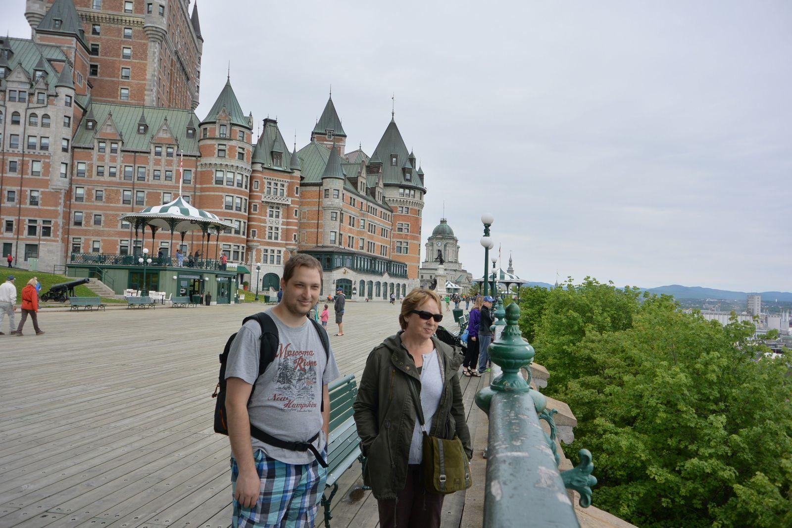 Voyage : Notre premier séjour à Québec en 2015.