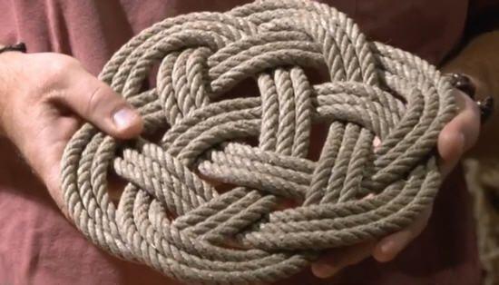 Noeuds marins apprenez faire un noeud de python - Noeud de sifflet de bosco ...