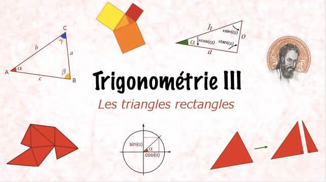 Les triangles rectangles