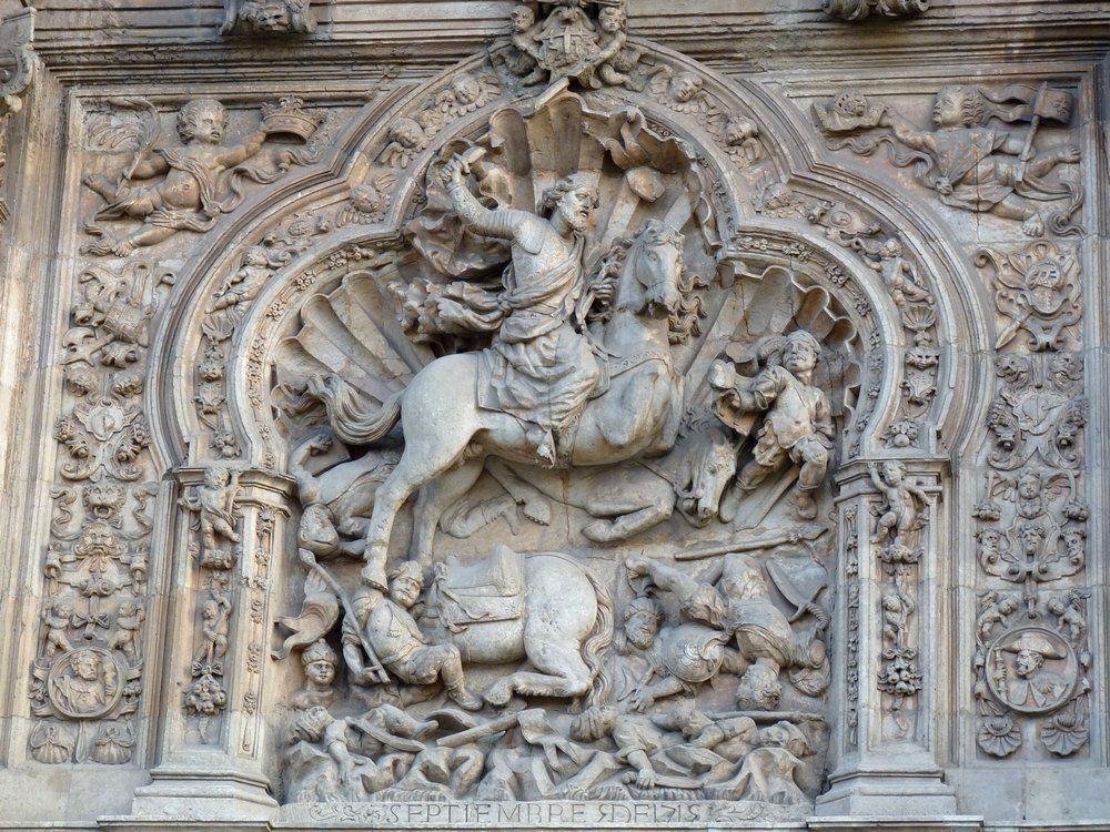Léon : la ville et l\'hostal de San Marcos - Vers Compostelle