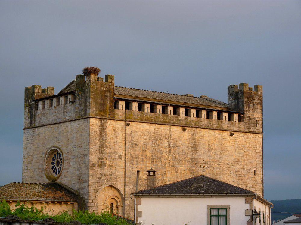 L'église Saint Jean ou Saint Nicolas de Portomarin
