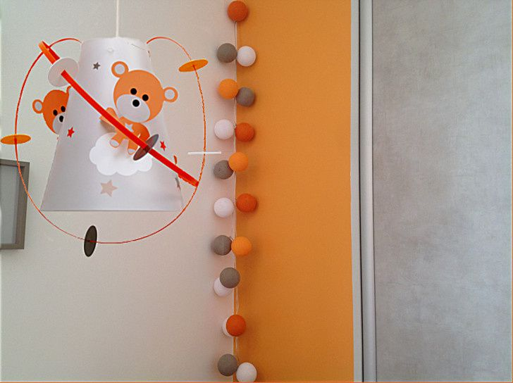 dcoration chambre bb ourson - Orange Chambre Bebe