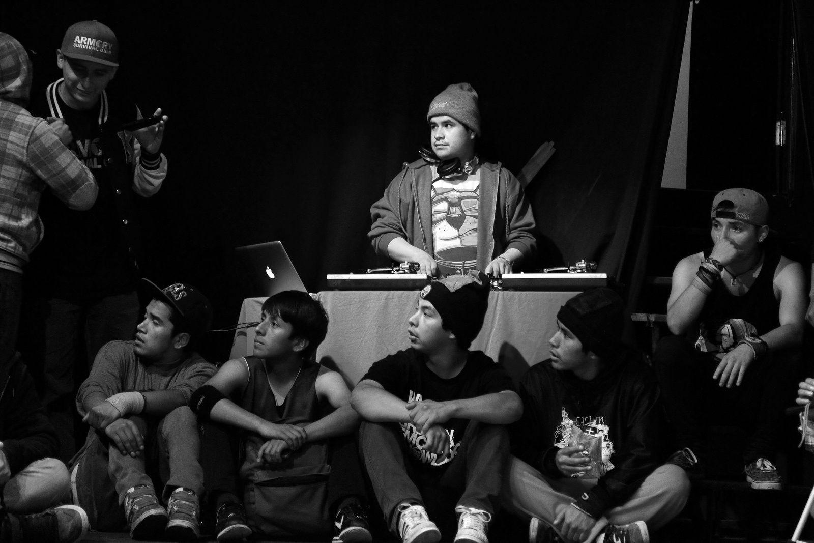 REVOLUTION - BreakDance Event 2014 - La Paz Bolivia