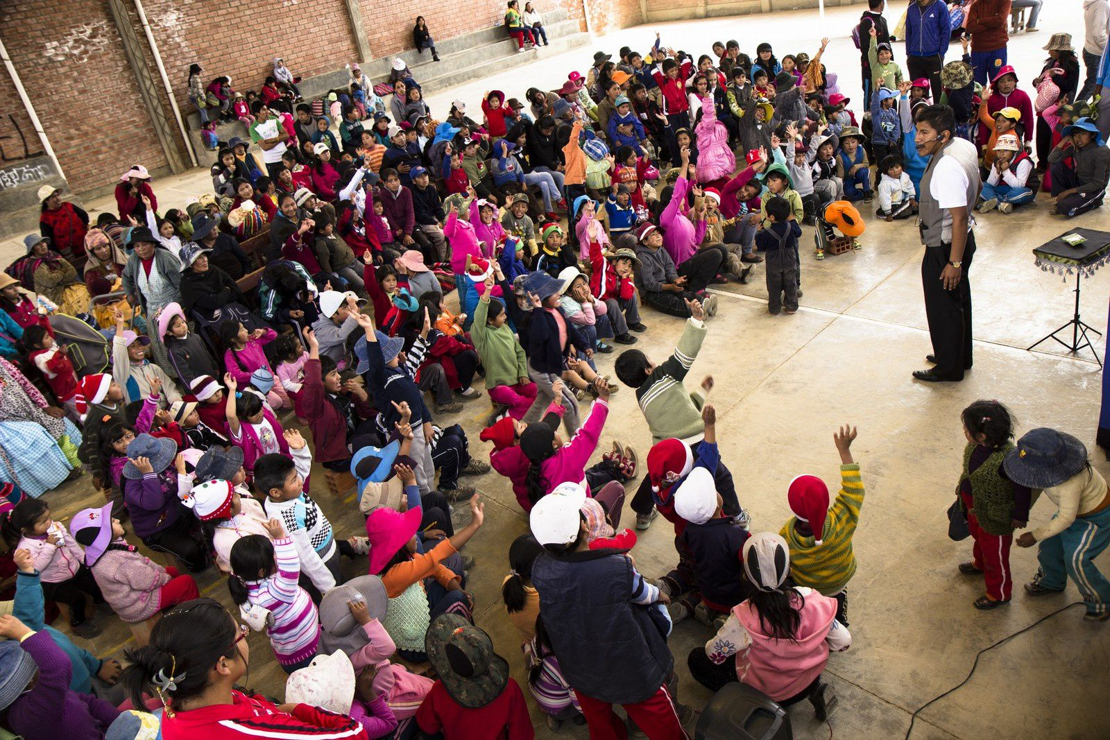 CHRISTMAS DAY with &quot&#x3B;Creo Foundation&quot&#x3B; - Viacha - Bolivia