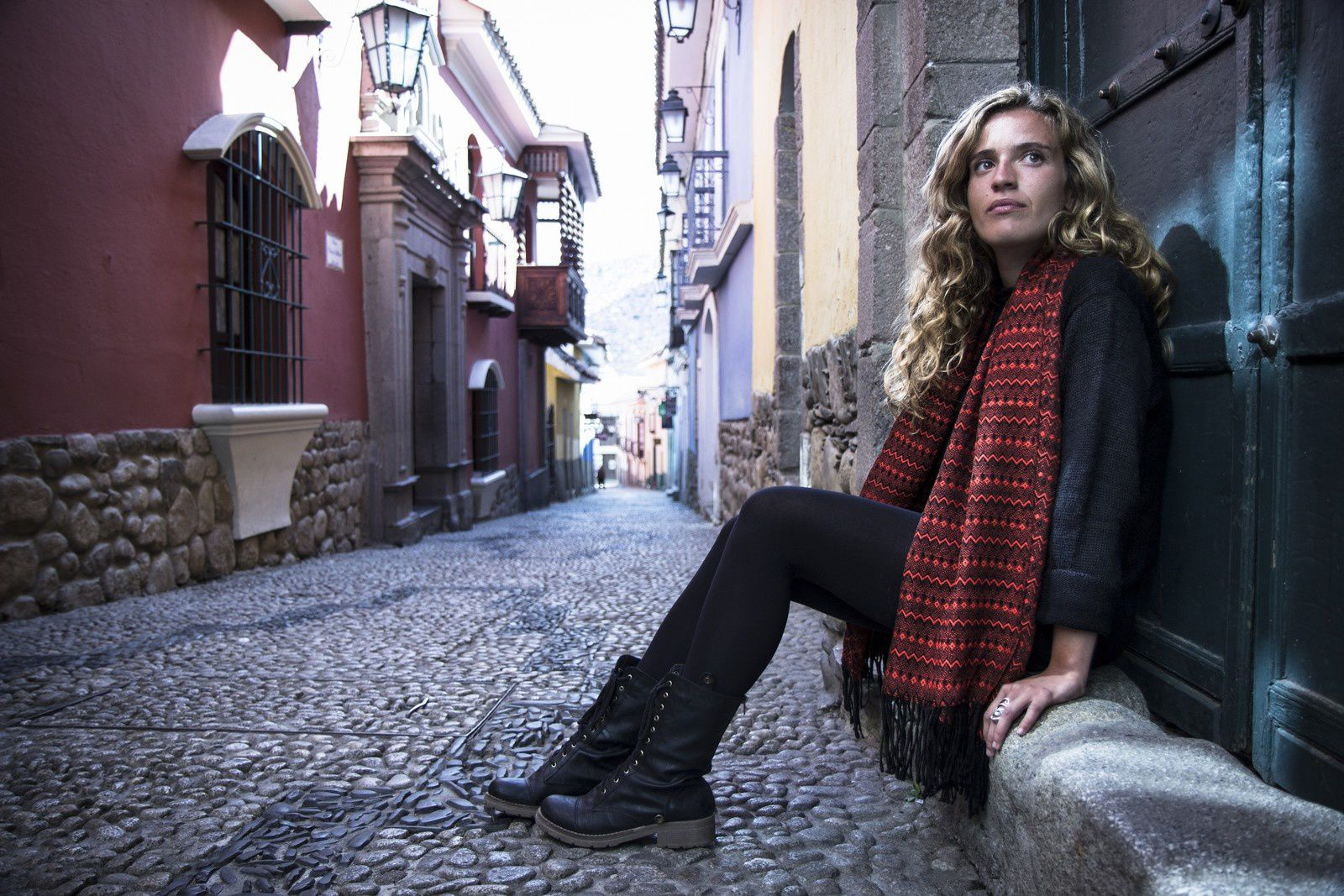 SUSTAINABLE ALPACA CLOTHING TRADE - Promotion pictures - Bolivia/Altiplano artisans ~ Canada/Samantha Hull