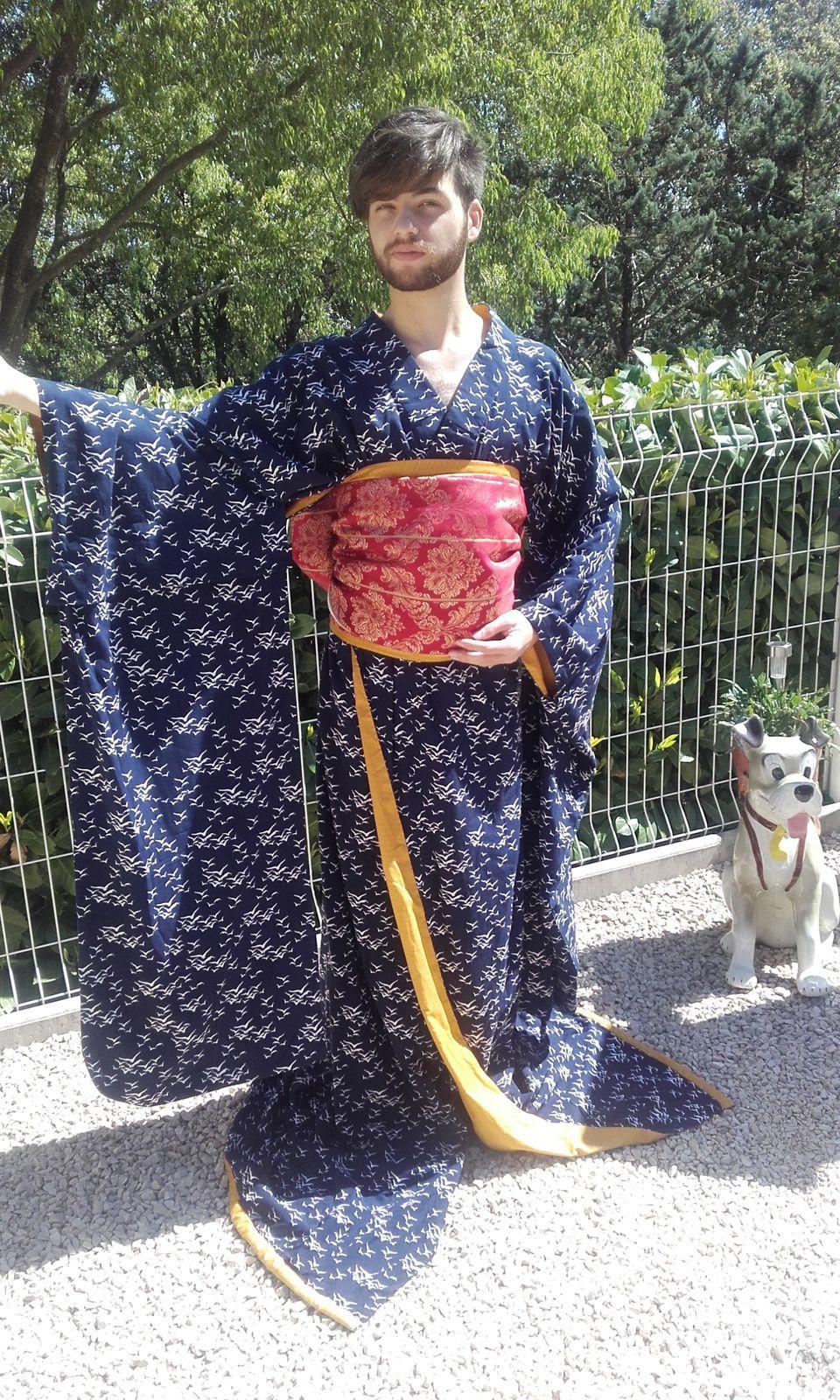 Yukata de Geisha