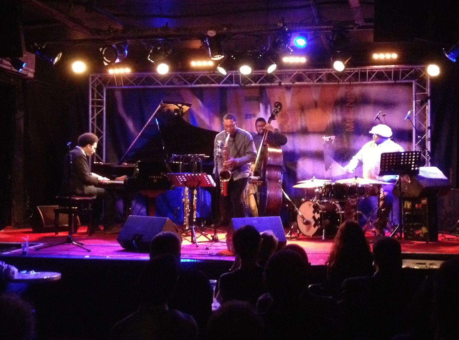 Live Report : Ravi Coltrane Quartet au New Morning