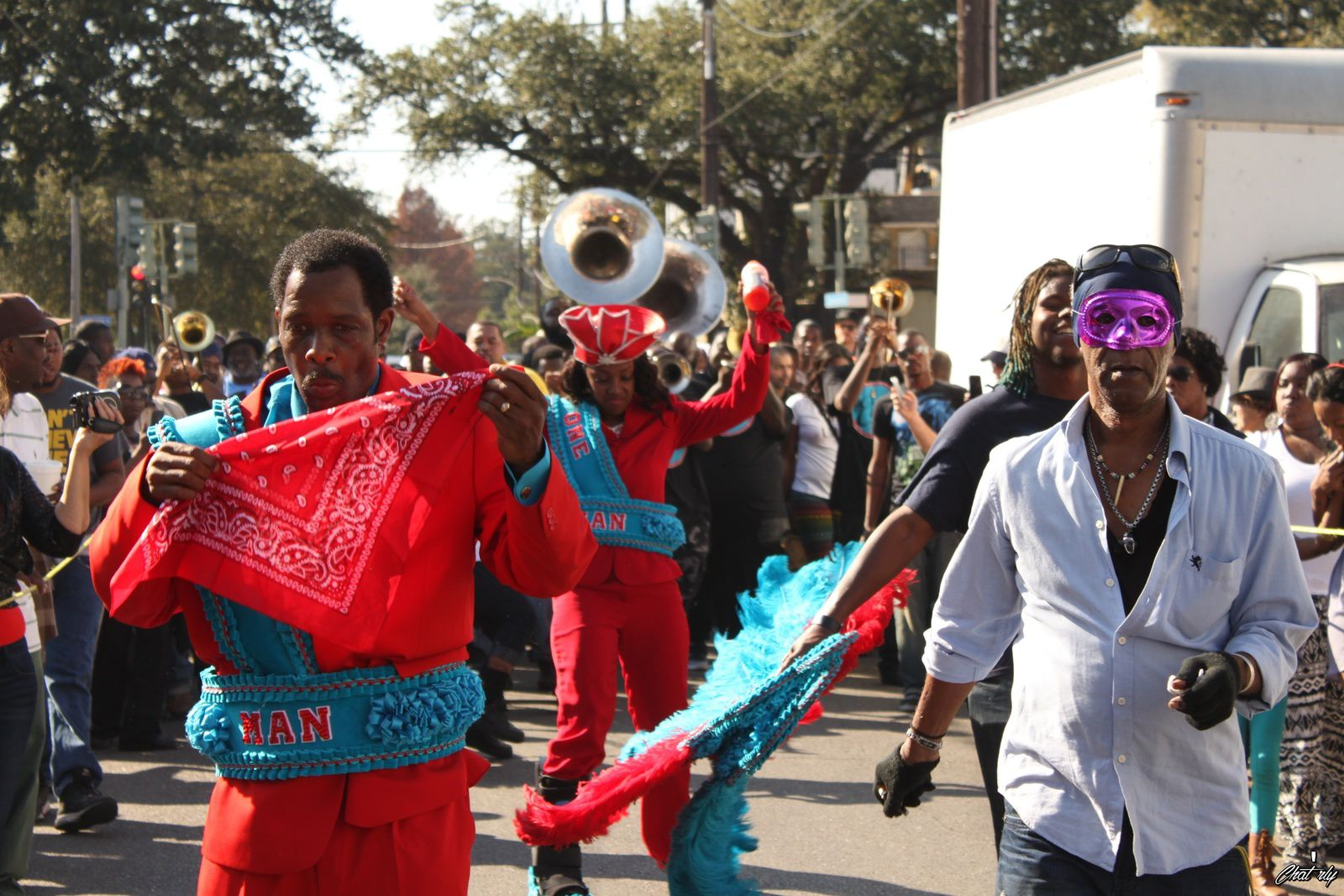 Second Line (New Orleans, LOUISIANA)
