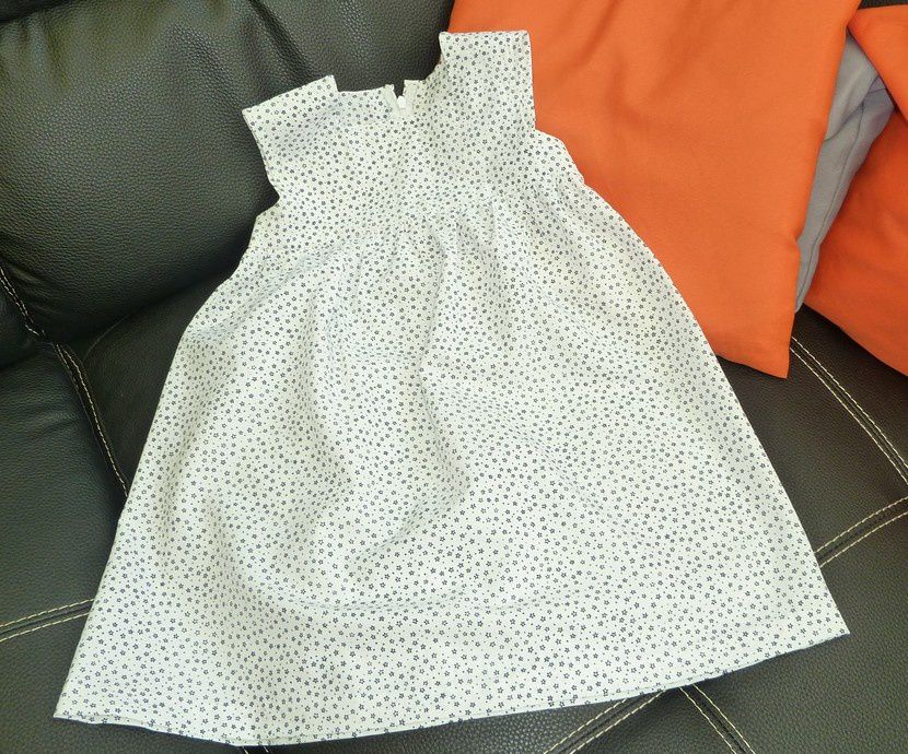 robe d'été fillette