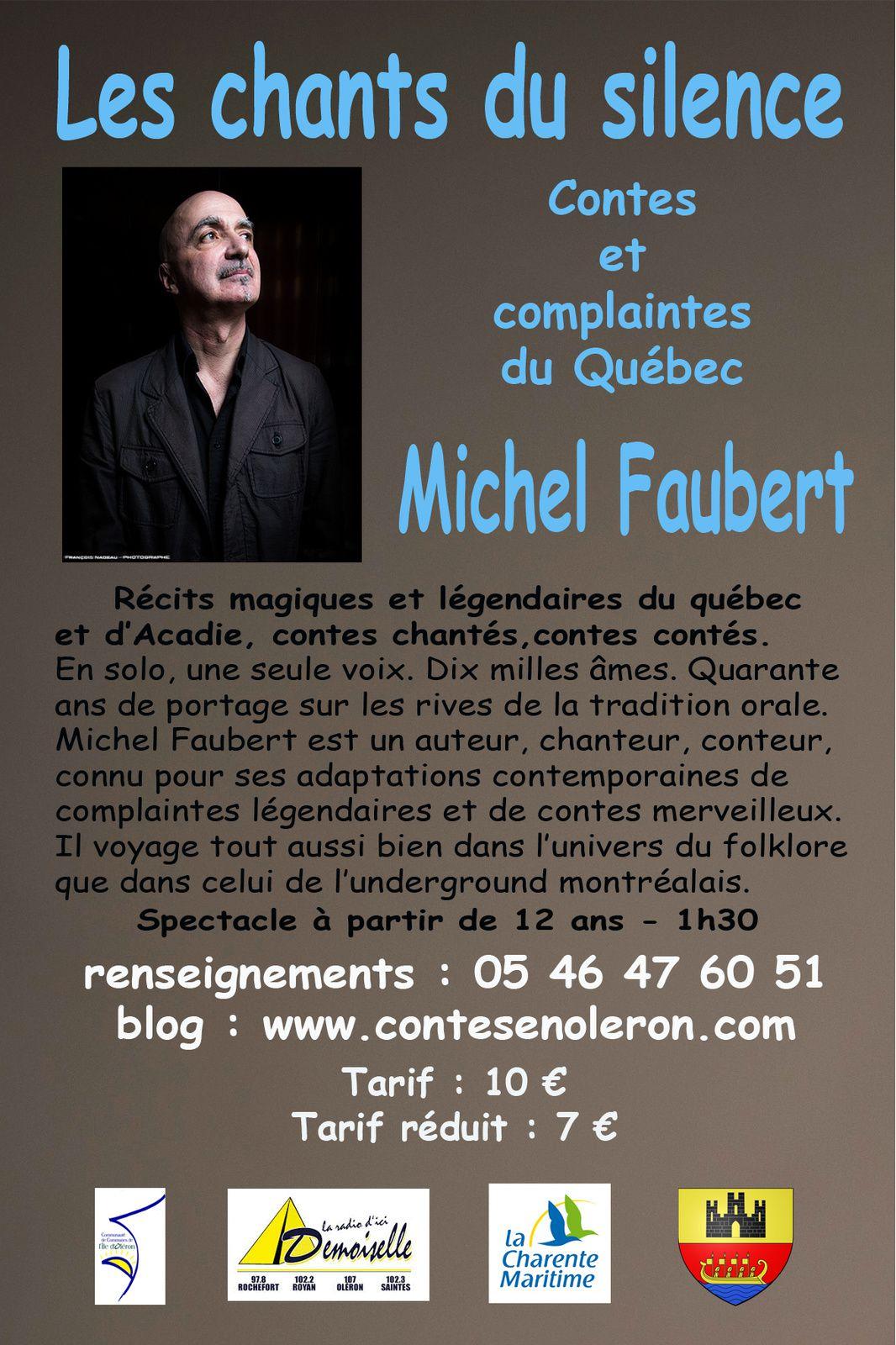 Michel Faubert : conteur québécois