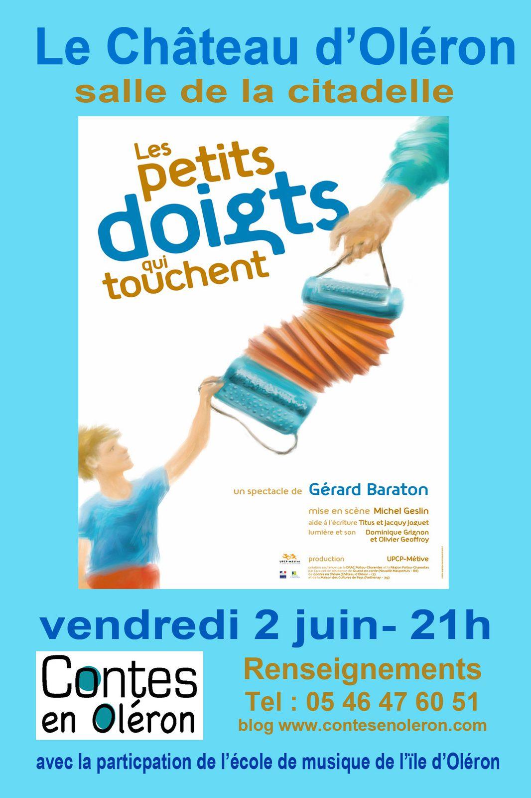 Gérard Baraton : Les petits doigts qui touchent