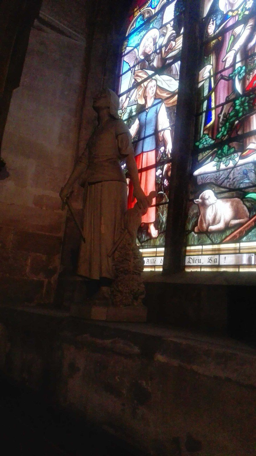 Ensuite l'Eglise St Christophe.