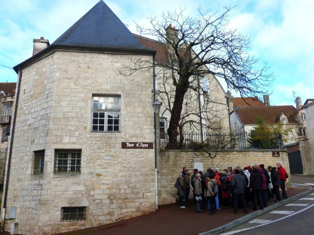 Visite de Chaumont 22/11/2015