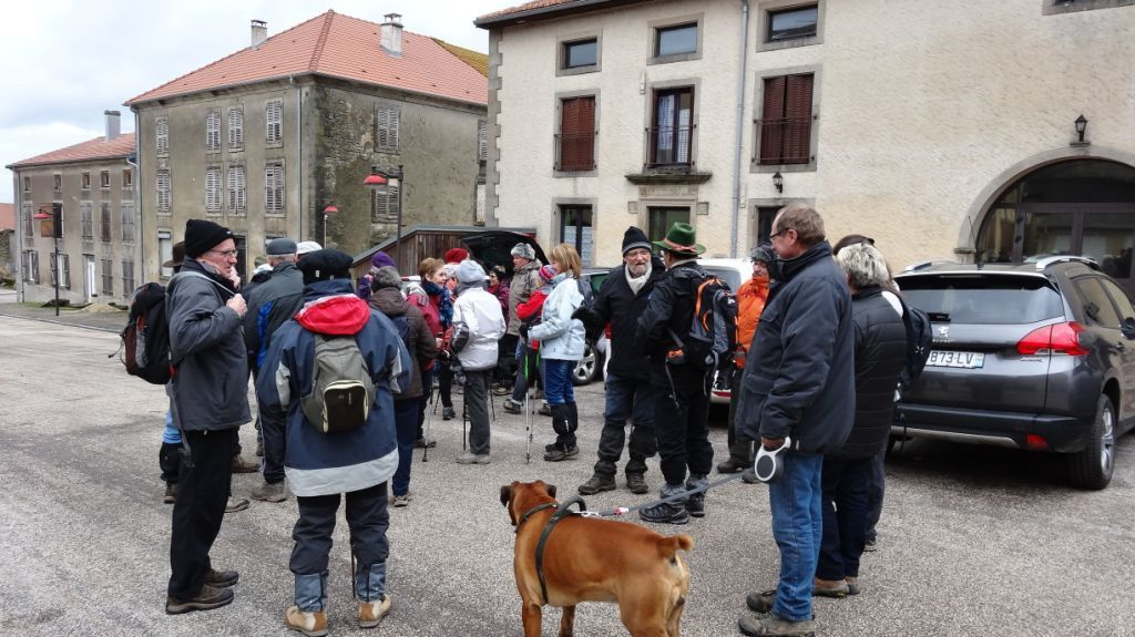 Sortie Dombrot le sec 14/02/2016