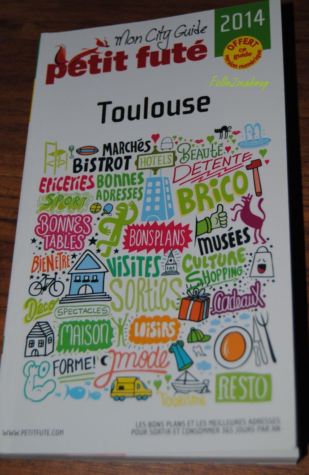 Mon city guide PETIT FUTE de Toulouse 6.95€