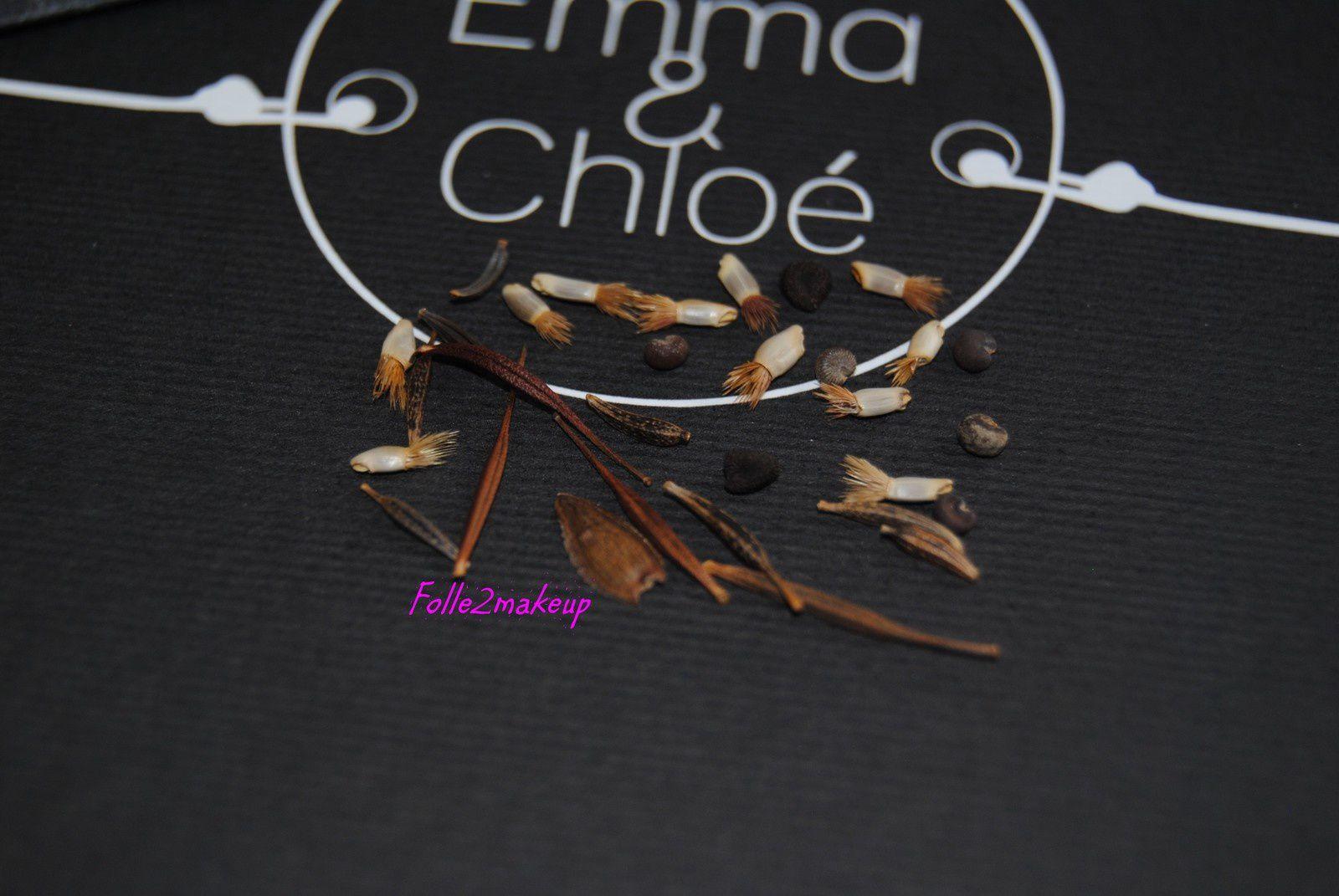 Et un petit plus trop mimi ces quelques graines que je me suis empressée de planter :-)
