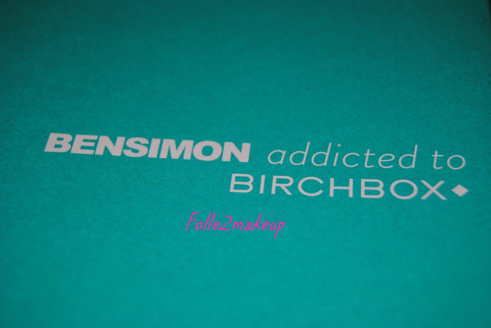 BENSIMON addicted to BIRCHBOX