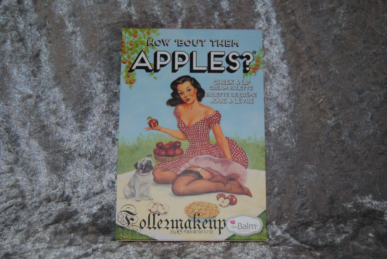 La palette How 'Bout Them Apples de THEBALM COSMETICS - 25€