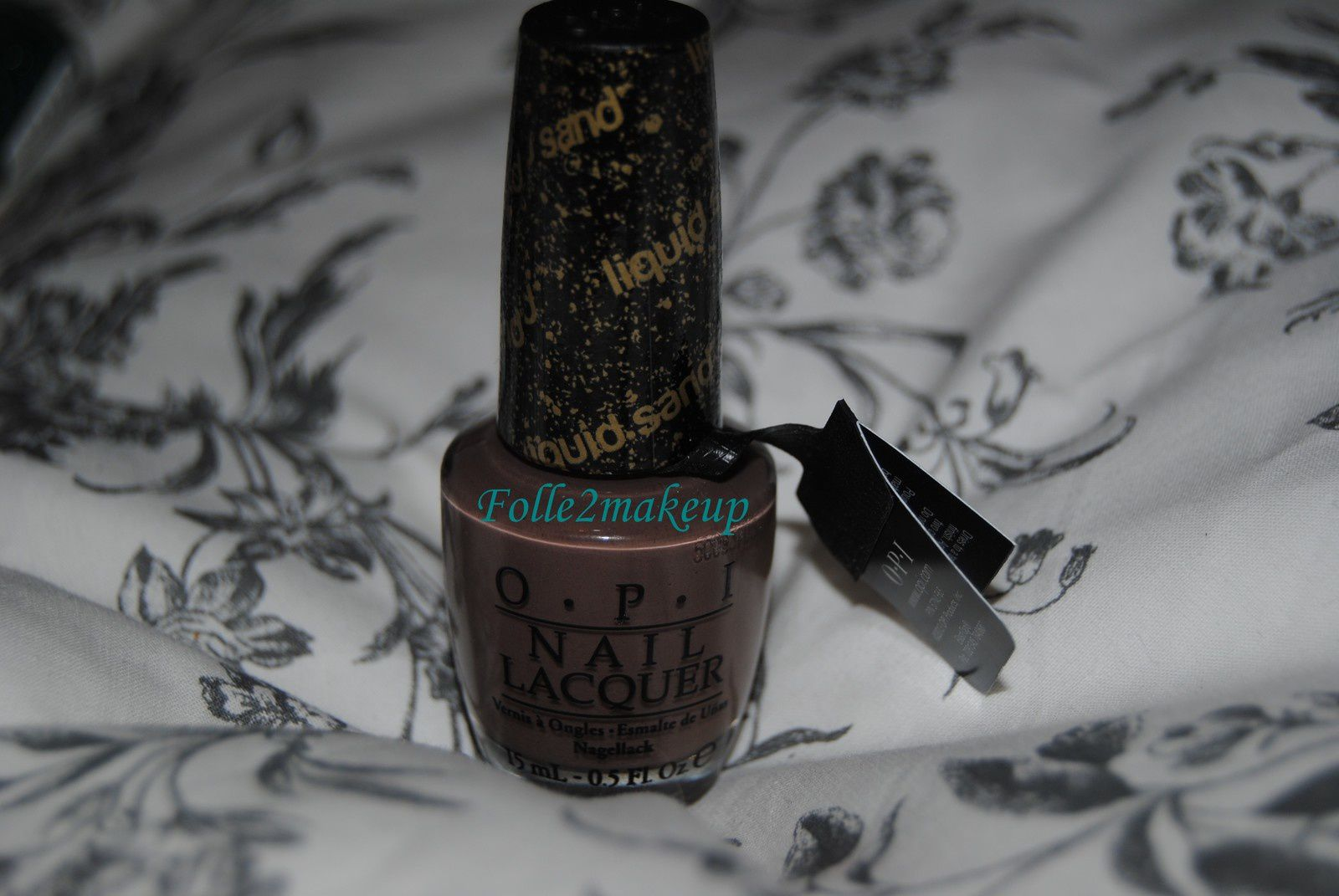 Le It's All San Andreas's Fault de OPI. C'est un très jolie marron liquid sand.