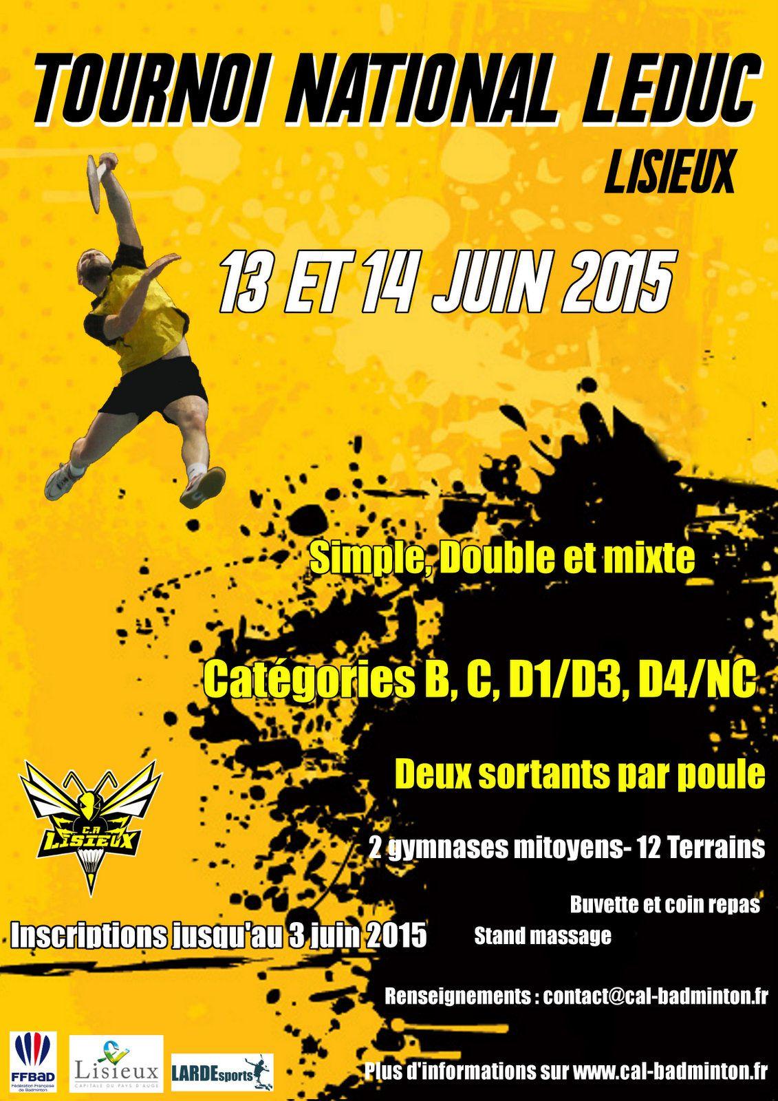 Tournoi LEDUC 2015 - Lisieux