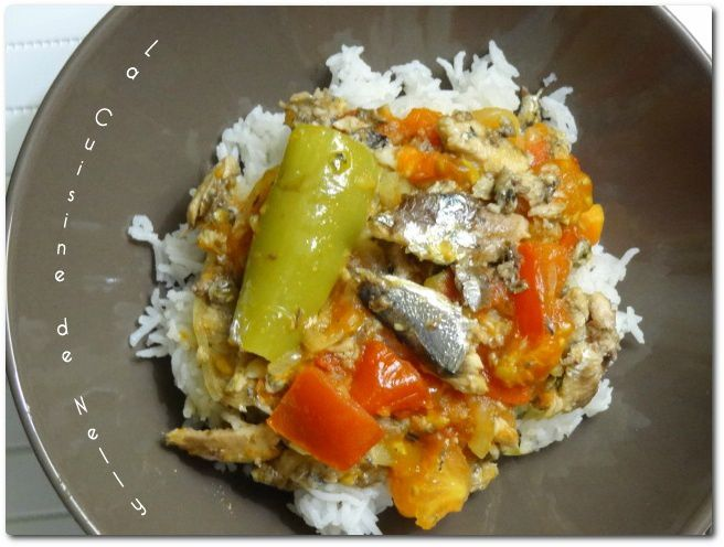 Le Sauce Sardines - La Cuisine de Nelly
