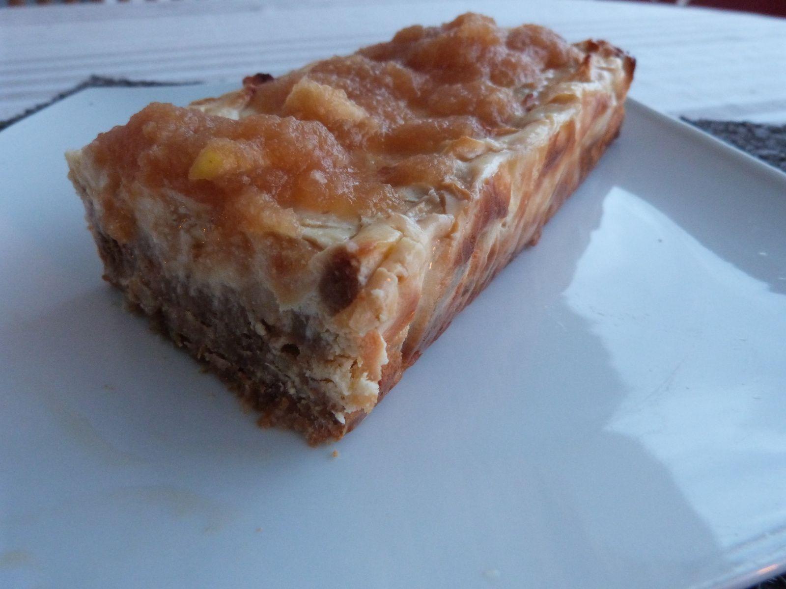 Terrine façon Cheesecake aux Pommes - Les Voyages de Gridelle