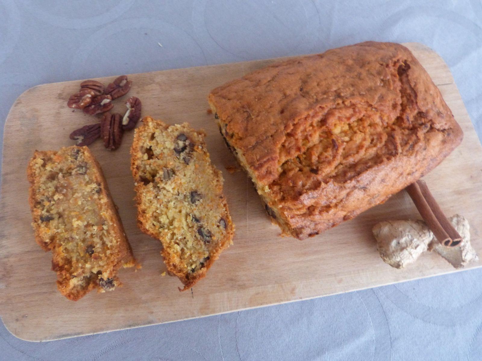 Carrot Cake aux Noix de Pécan - Les Voyages de Gridelle