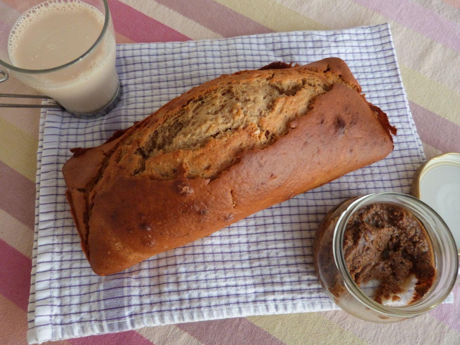 Cake au Praliné, Châtaigne et Lait d'Amande - Recette sans Gluten - Les Voyages de Gridelle