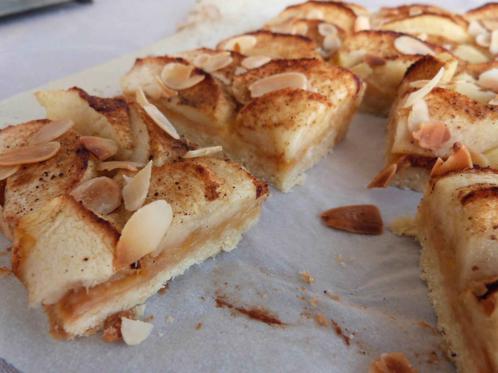 Tarte aux Pommes, Parfumée à la Passion, à la Vanille et au Gingembre