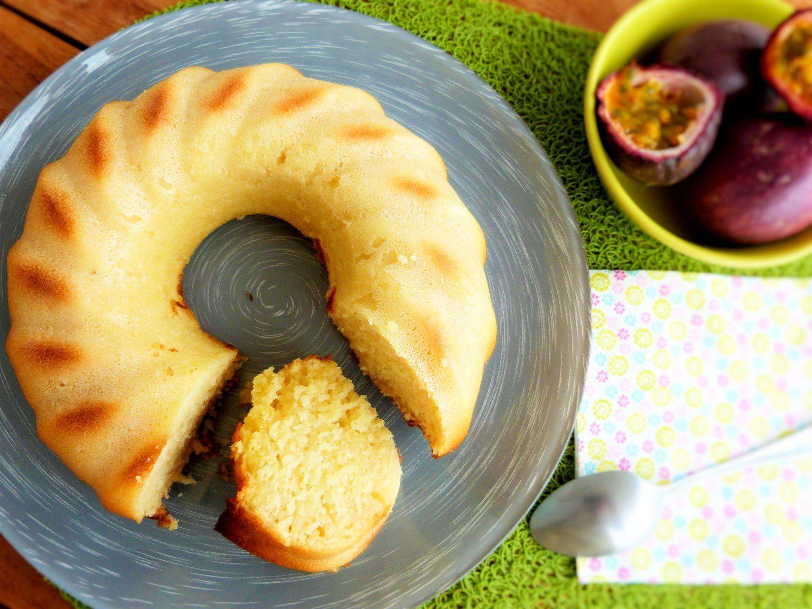 Bundt Cake au Jus et Rhum Passion - Les Voyages de Gridelle