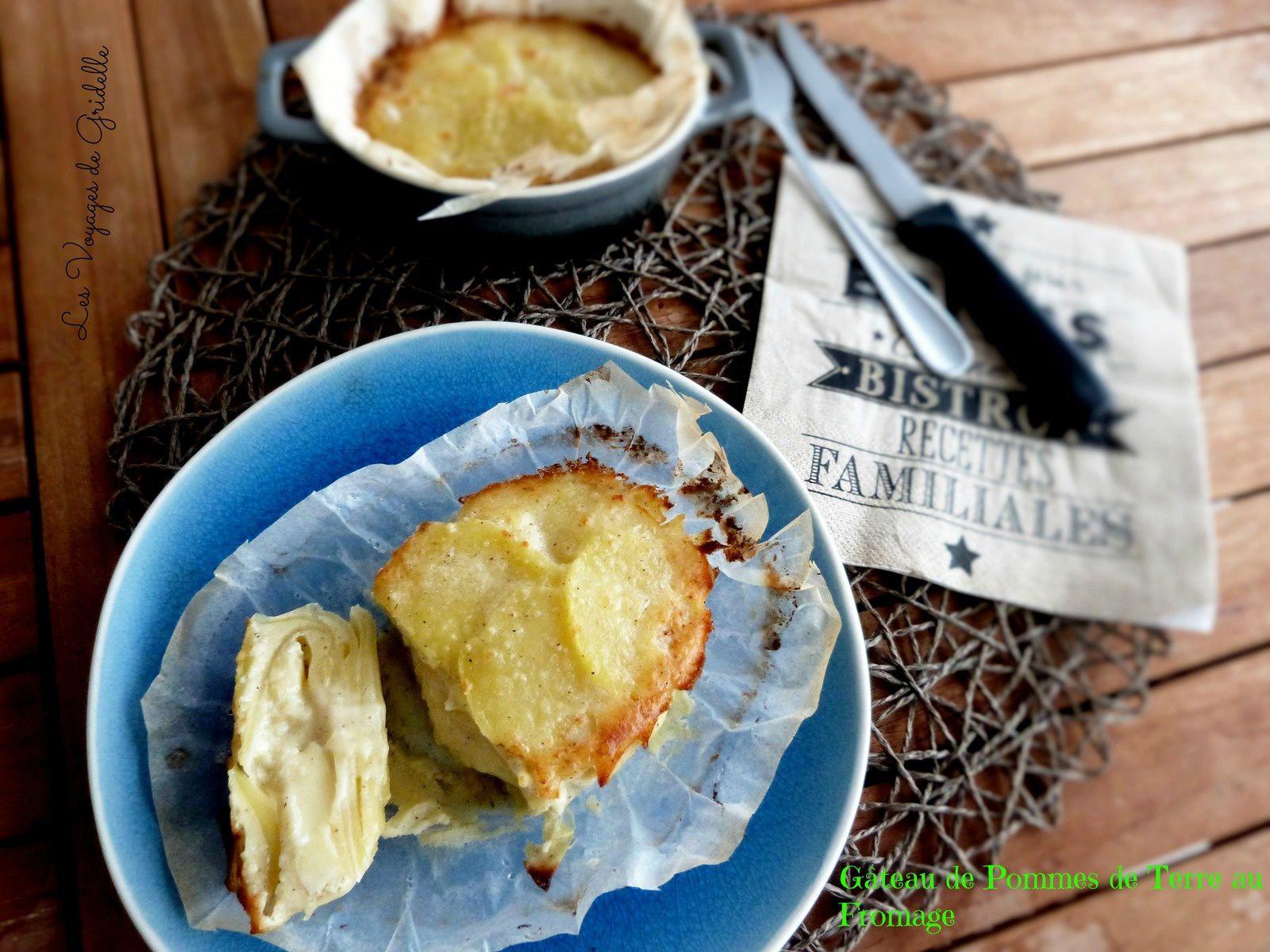 Gâteau de Pommes de Terre au Fromage - Les Voyages de Gridelle