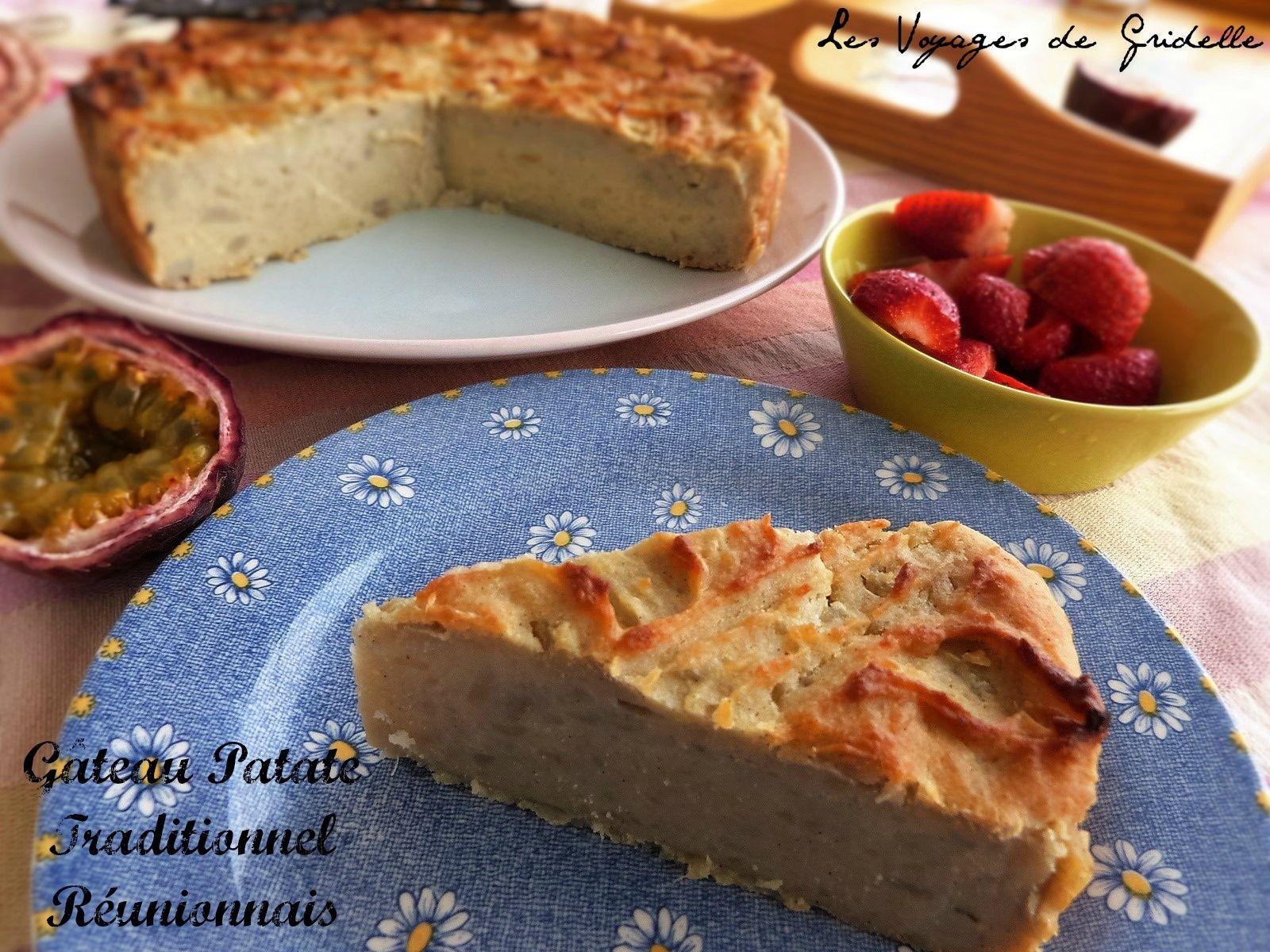 Gâteau Patate Traditionnel Réunionnais