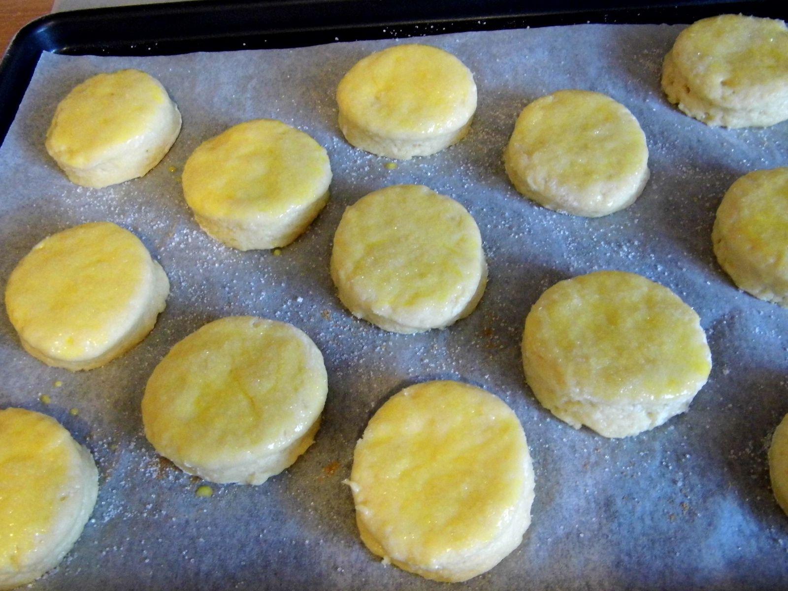 Les scones avant la cuisson