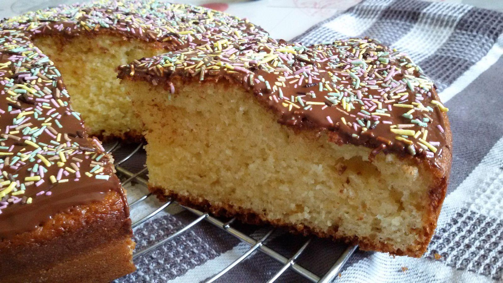 L'indémodable gâteau yaourt