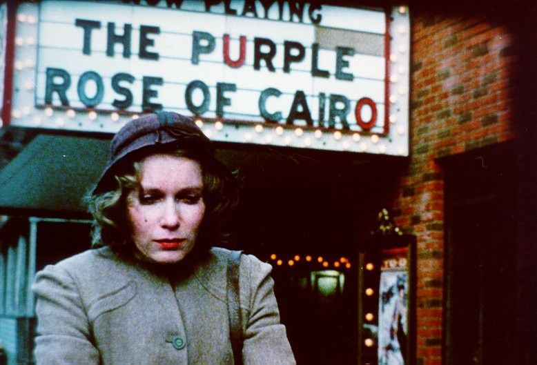 La Rose Pourpre du Caire [En:The Purple Rose of Cairo] - Woody Allen (1985)