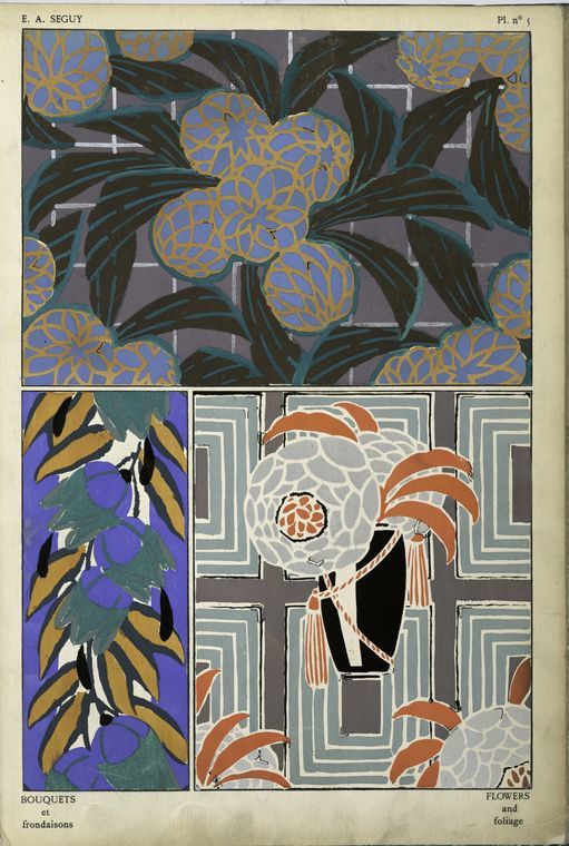 The Miriam and Ira D. Wallach Division of Art, Prints and Photographs: Art & Architecture Collection, The New York Public Library. 1. Flowers and foliage&#x3B; 2. Flowers and foliage&#x3B; 3. Flowers and foliage