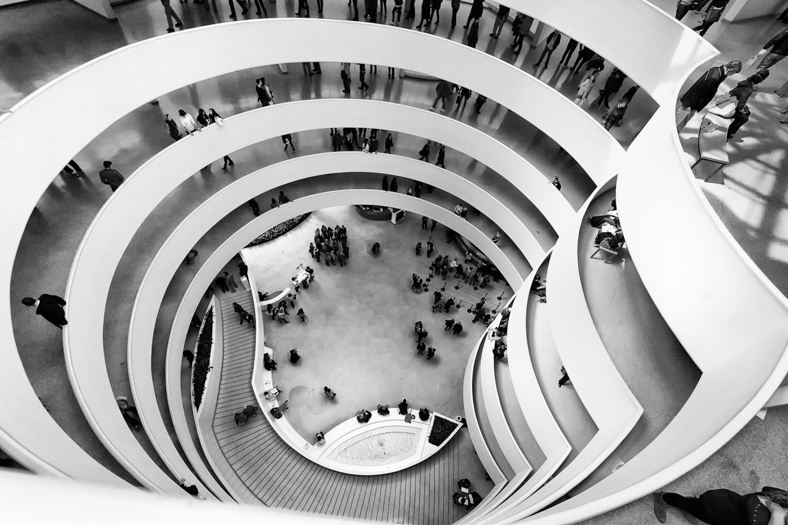 Guggenheim Museum, New York - Source: genelowinger.com