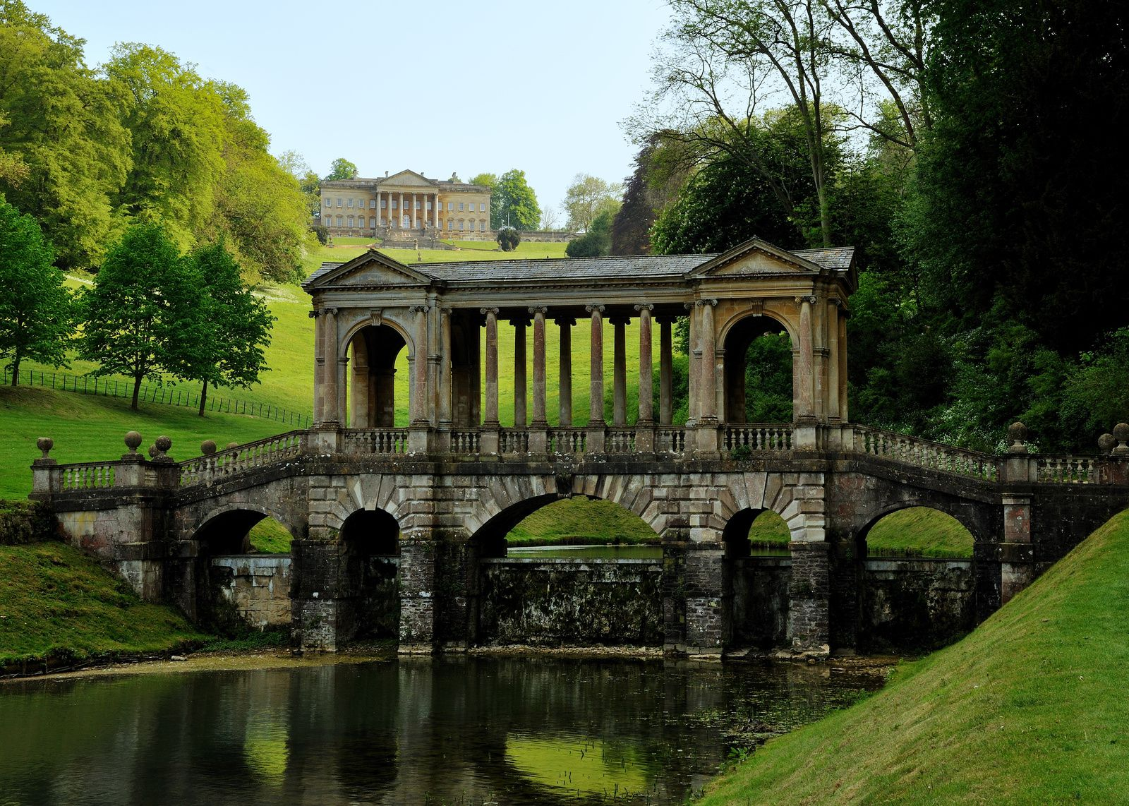 Palladium Bridge, Prior Park, Bath, England - Source: commons.wikimedia.org