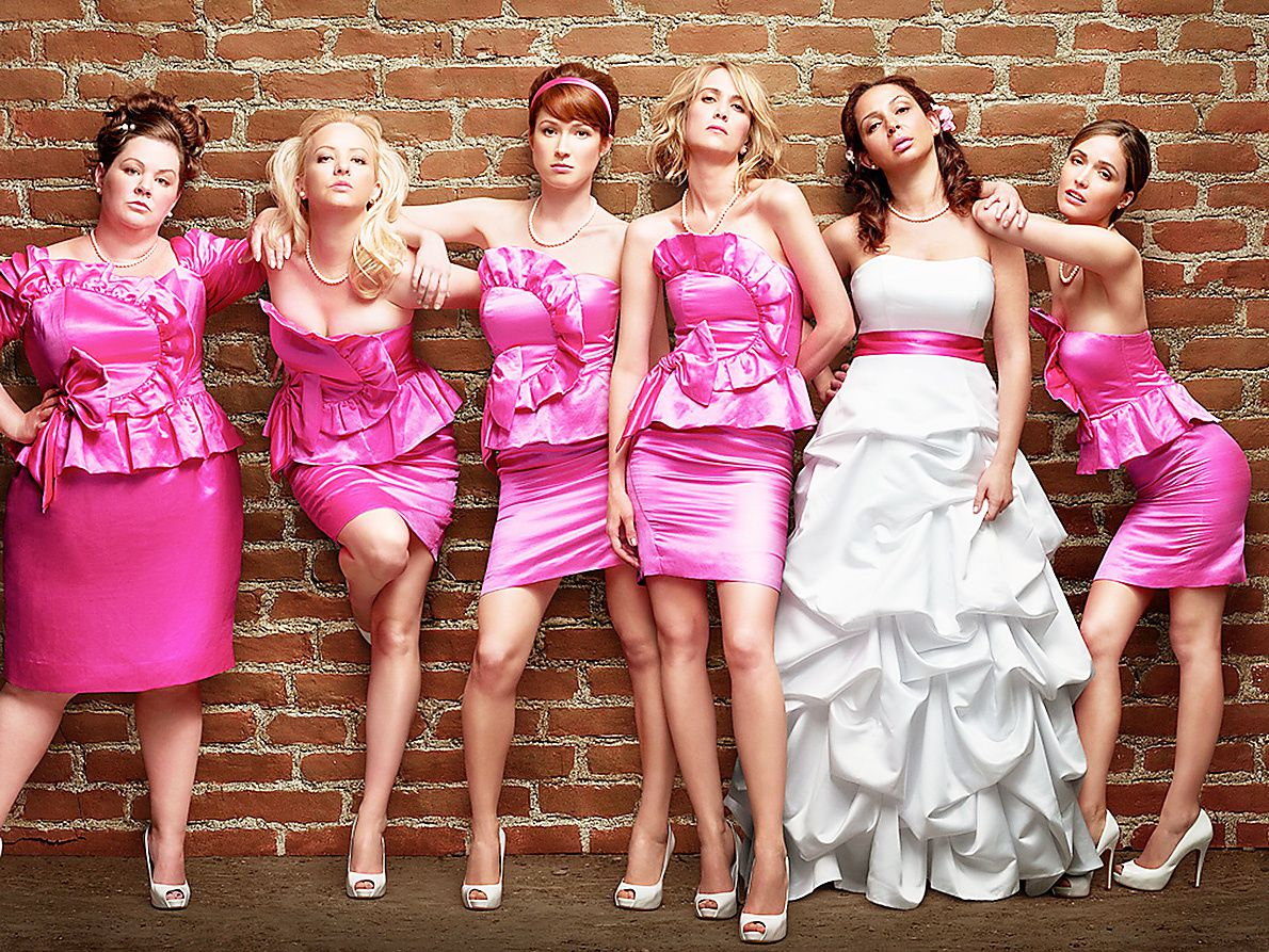 """""""Bridesmaids"""" by Paul Feig (2011) © Universal Pictures - Source: pluggedin.com"""