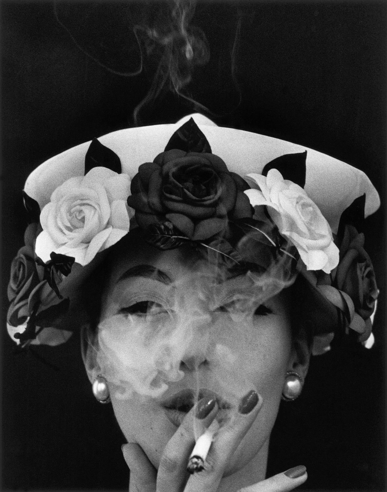 Hat and fives Roses, Vogue, 1956 - Source: northcountrypublicradio.org