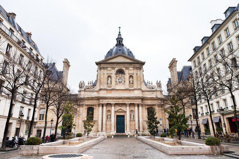 La Sorbonne in Paris - Via: cityzeum.com