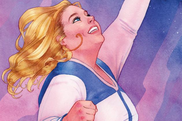 Super heroine Faith Herbert © Valiant Entertainmenet - Via: comicsalliance.com