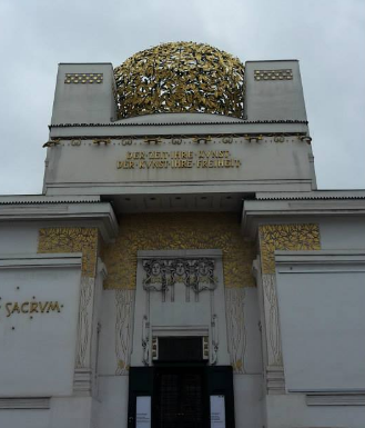 The Secession Building./ Le Palais de la Sécession.