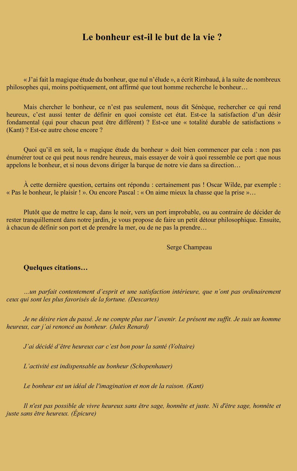Café Philo à LARUSCADE le 30 Mai à 10h00