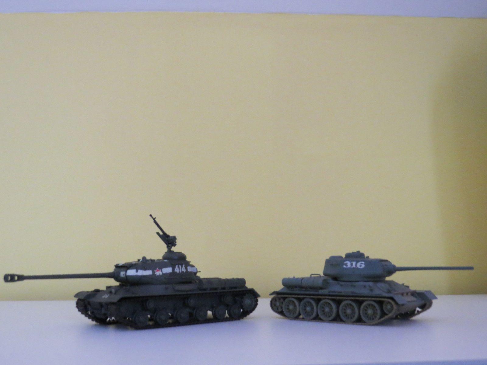 t-34 vs is-2